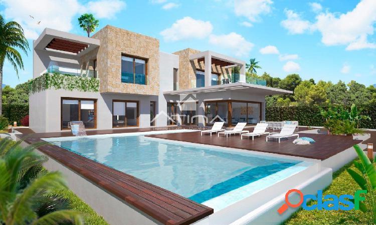 """""""Villa de lujo en construcción en Javea, urbanización"""