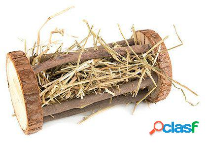 Karlie Flamingo Recipiente madera para comida roedor con