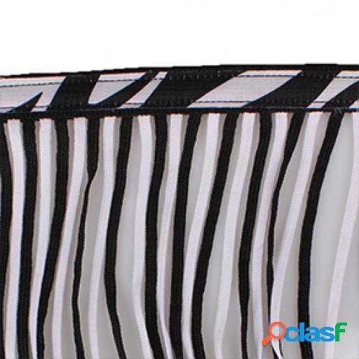 QHP Frontalera anti moscas extra zebra Pony