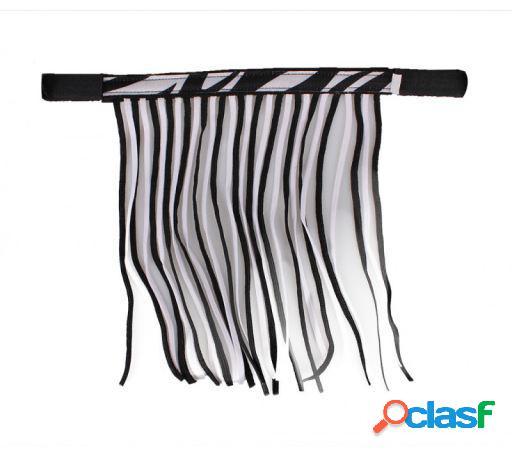 QHP Frontalera anti moscas zebra Full