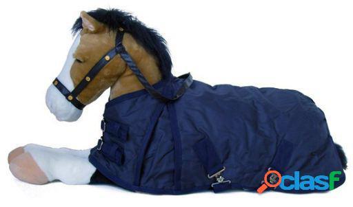 QHP Manta falabella 200 gr azul 115 cm