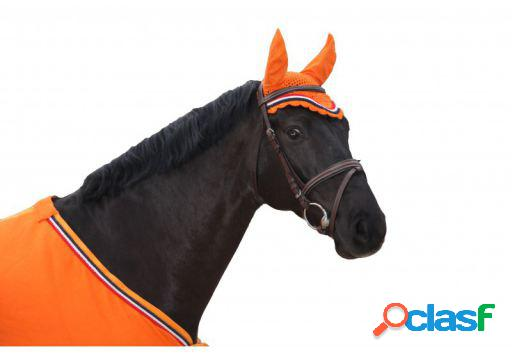 QHP Orejeras naranja pony