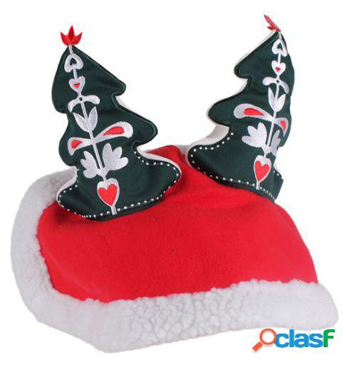 QHP Orejeras rojas christmas full