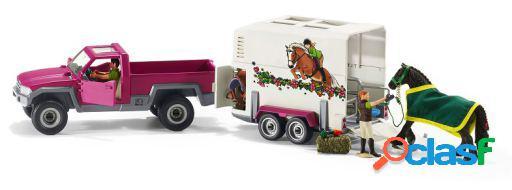 Schleich Camioneta Con Remolque Para Caballos 1.519 kg