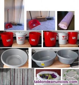 Vendo materiales de limpieza y materiales de lavandería