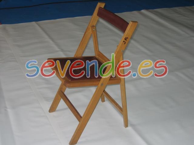 Venta sillas de madera tapizadas