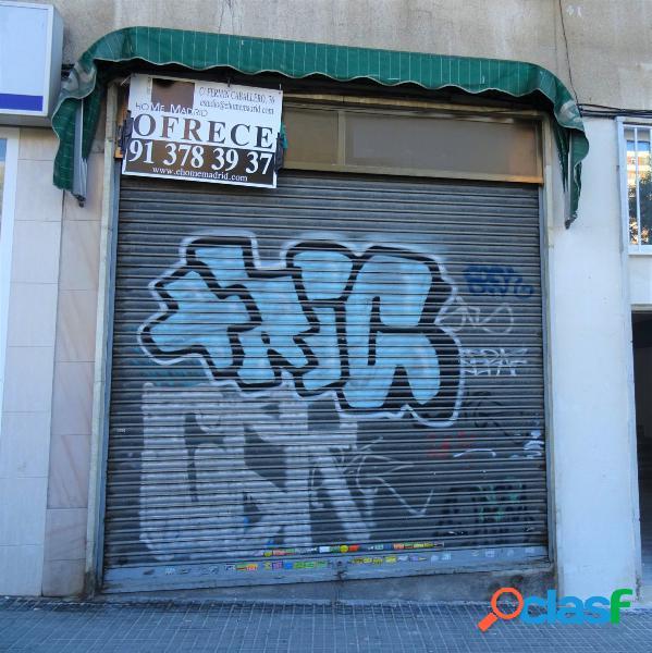 ESTUDIO HOME MADRID OFRECE local comercial en barrio del