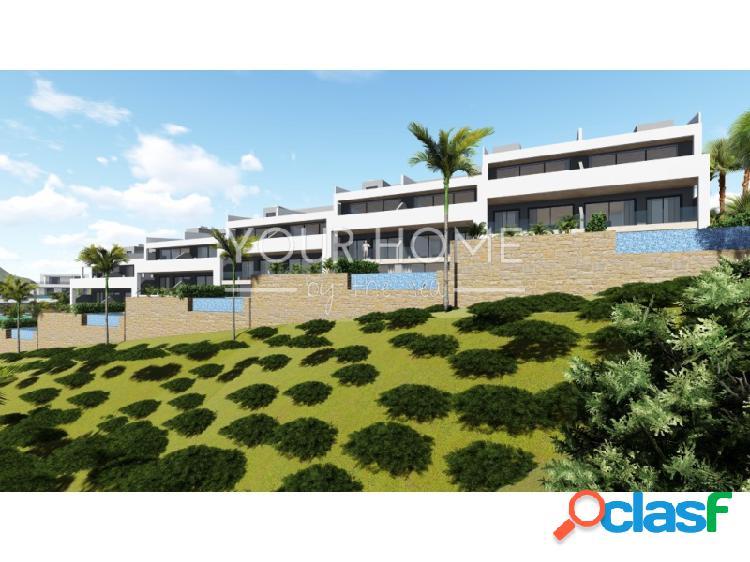 Villas adosadas con piscina privada