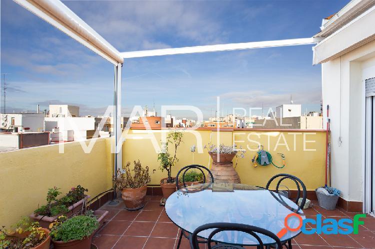 Ático de dos dormitorios en la calle Vallehermoso. Madrid