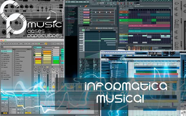 CLASES PARTICULARES DE INFORMATICA MUSICAL