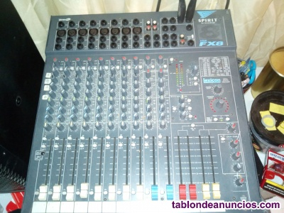 Equipo de sonido profesional completo