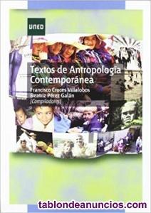 Libro textos de antropología contemporánea