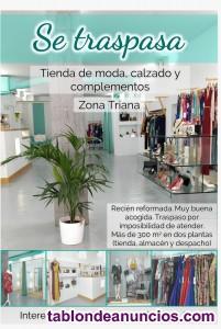 Se traspasa tienda de moda en zona triana