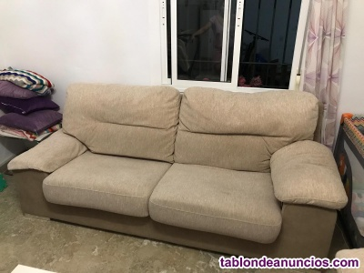 Conjunto de sofá 3+2 seminuevo