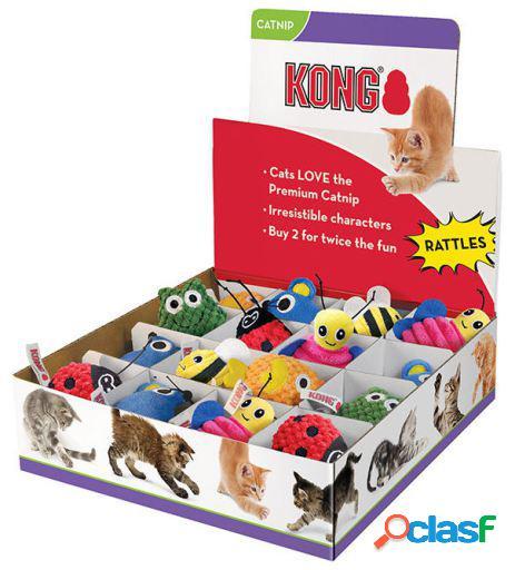 KONG Peluche Cat Scrattles Display 240 GR