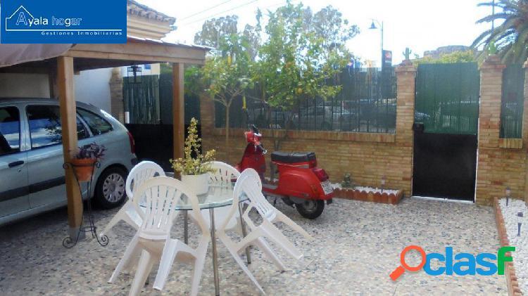 Se vende casa unifamiliar en Ciudad Jardín, totalmente