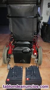Se vende silla de ruedas electrica quikie rumba