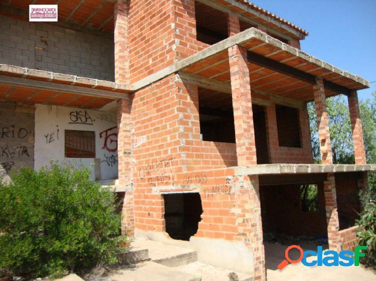 VENTA DE CHALET EN CONSTRUCCION EN CATADAU. URB LLOMA MOLINA