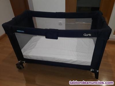 Cuna de viaje bebe due con colchón