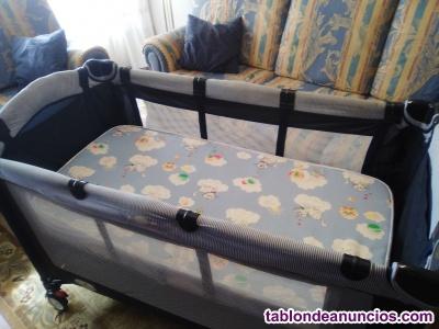 Cuna de viaje para bebes.