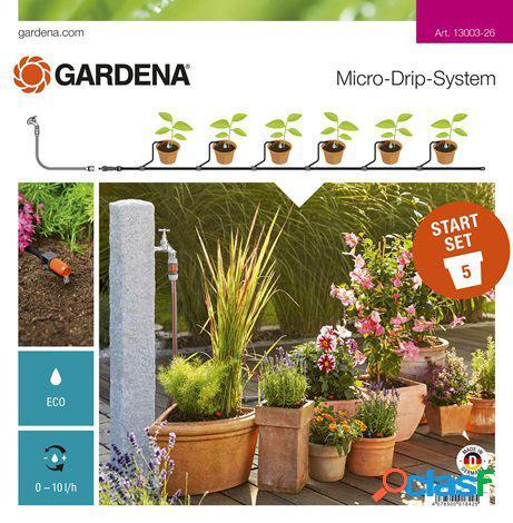 Gardena Set de Inicio para Macetas GARDENA