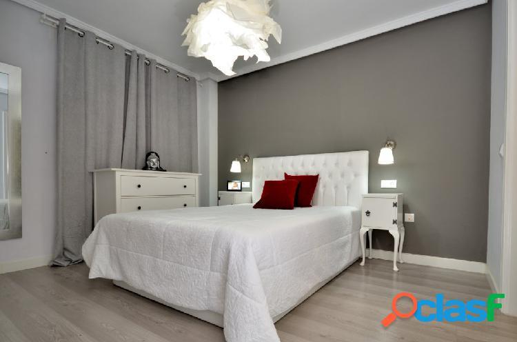 Moderno y luminoso piso de 3 dor. recién reformado con