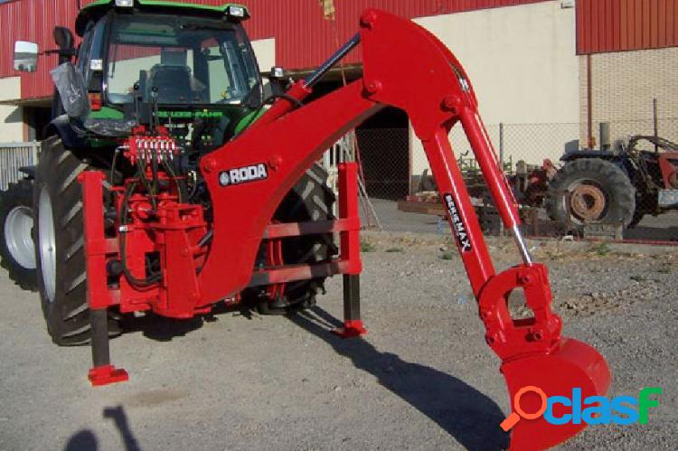 Retroexcavadora maxi/super/plus mÓvil roda para tractores
