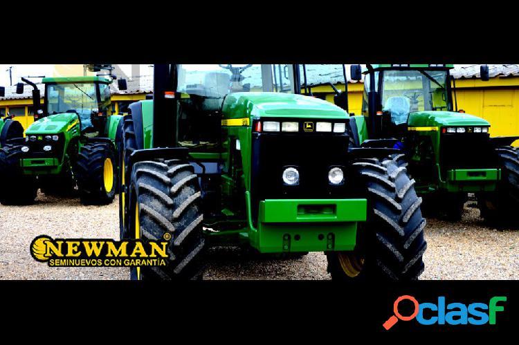 Tractor agrícola john deere 8100