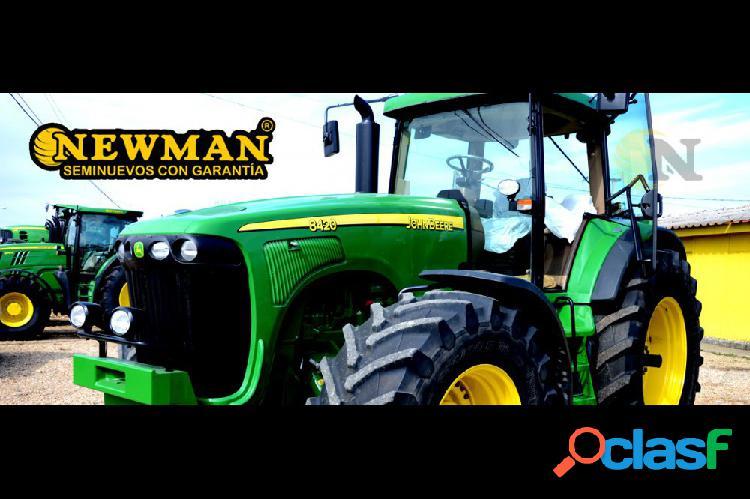 Tractor agrícola john deere 8420