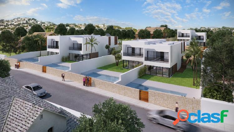 Villas con vistas al MAR en Moraira · COMETA   6 Villas