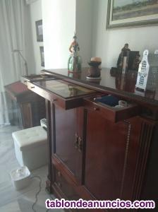 Mueble de tv clásico