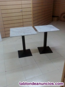 Mesas de marmol cuadradas