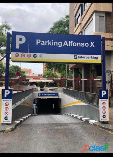 Se vende Plaza de Garaje en ALFONSO XX EL SABIO