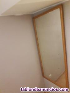 Espejo antiguo grande
