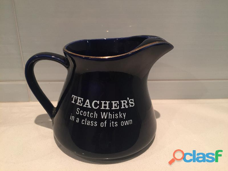 Jarra de whisky TEACHER'S azul