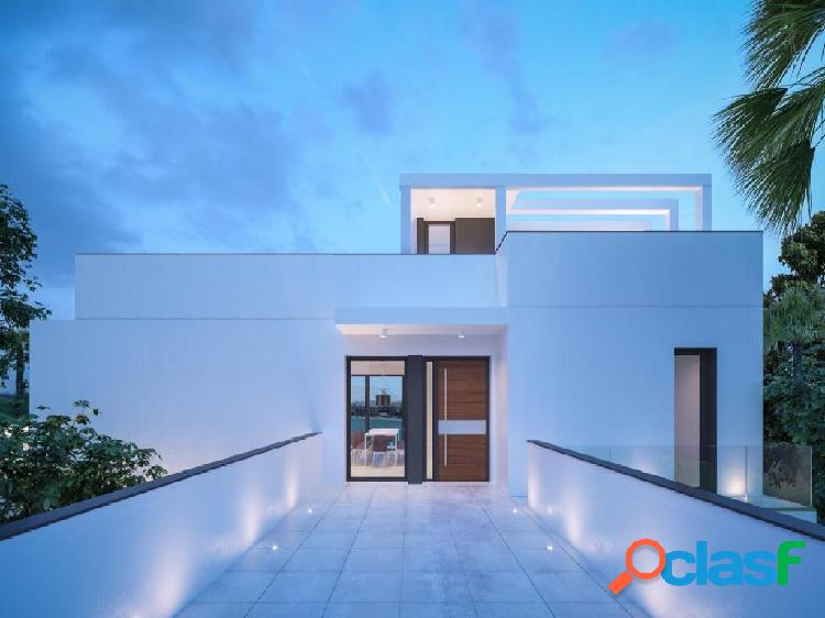 Modern luxury villa with sea views in a very exclusive and