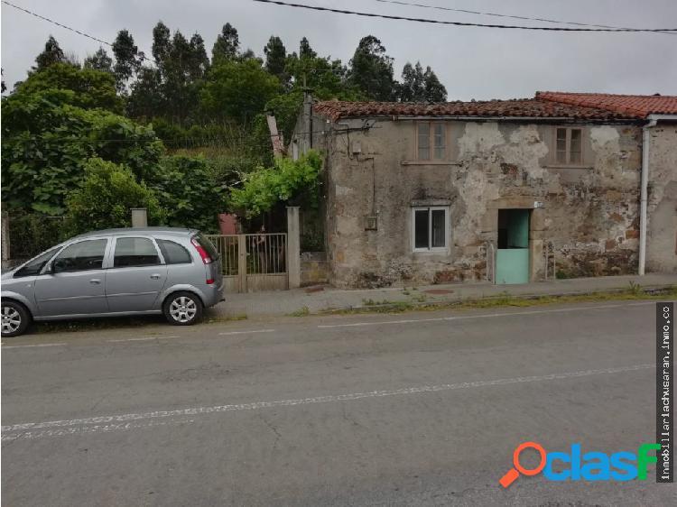 Se vende casa para rehabilitar en Xoane