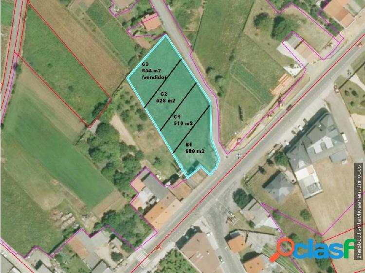 Se venden parcelas edificables en Bertoa Carballo