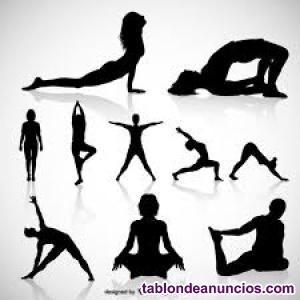 Se ofrecen clases de yoga