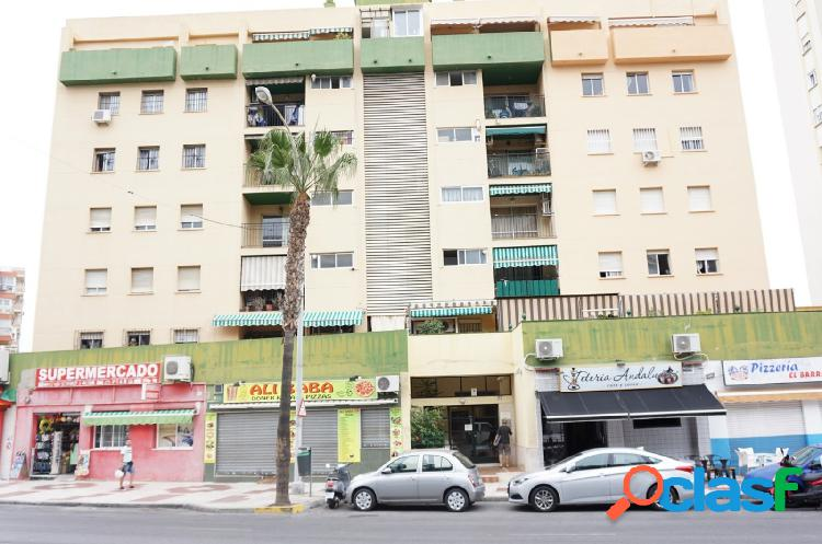 Amplio piso en el centro de Torremolinos