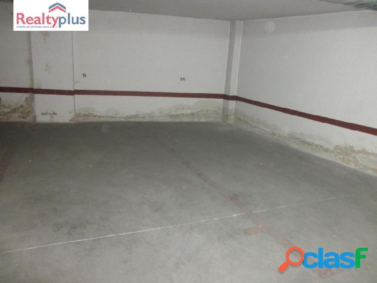 Venta de dos plazas de garaje