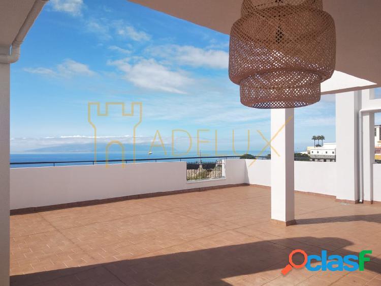 Pisos con amplias terrazas y hermosas vistas al Mar y La