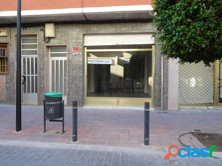 SE VENDE LOCAL COMERCIAL EN LA AVENIDA DE MADRID EN EL