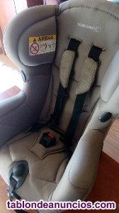 Silla auto bebe + trona