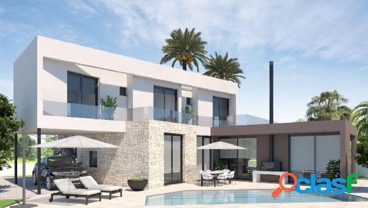 Villa de estilo moderno en Calpe con piscina privada muy