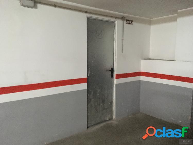 H H vende plaza de garaje con trastero. Z. Concordia. /H H