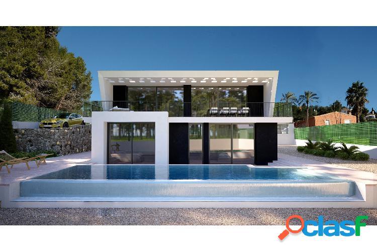 Villa de diseño moderno en cal