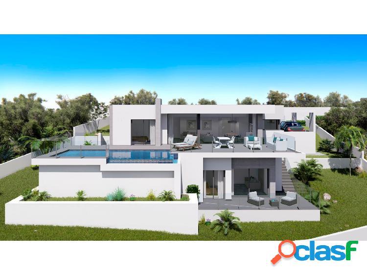Villa de diseño moderno situad