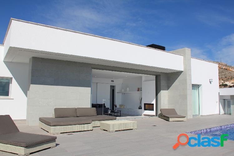 Villa de estilo contemporáneo,