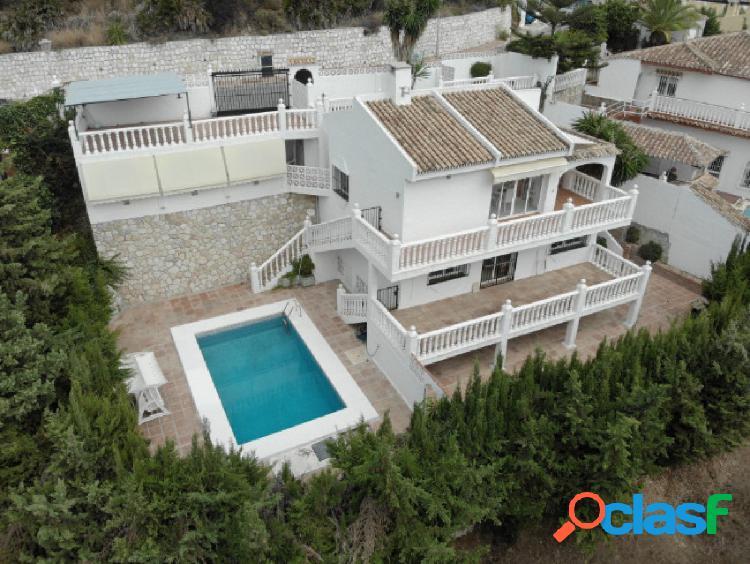 Villa independiente.La cala de Mijas-Torrenueva